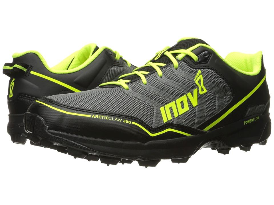 inov-8 Arctic Claw 300 (Grey/Black/Neon Yellow) Running Shoes