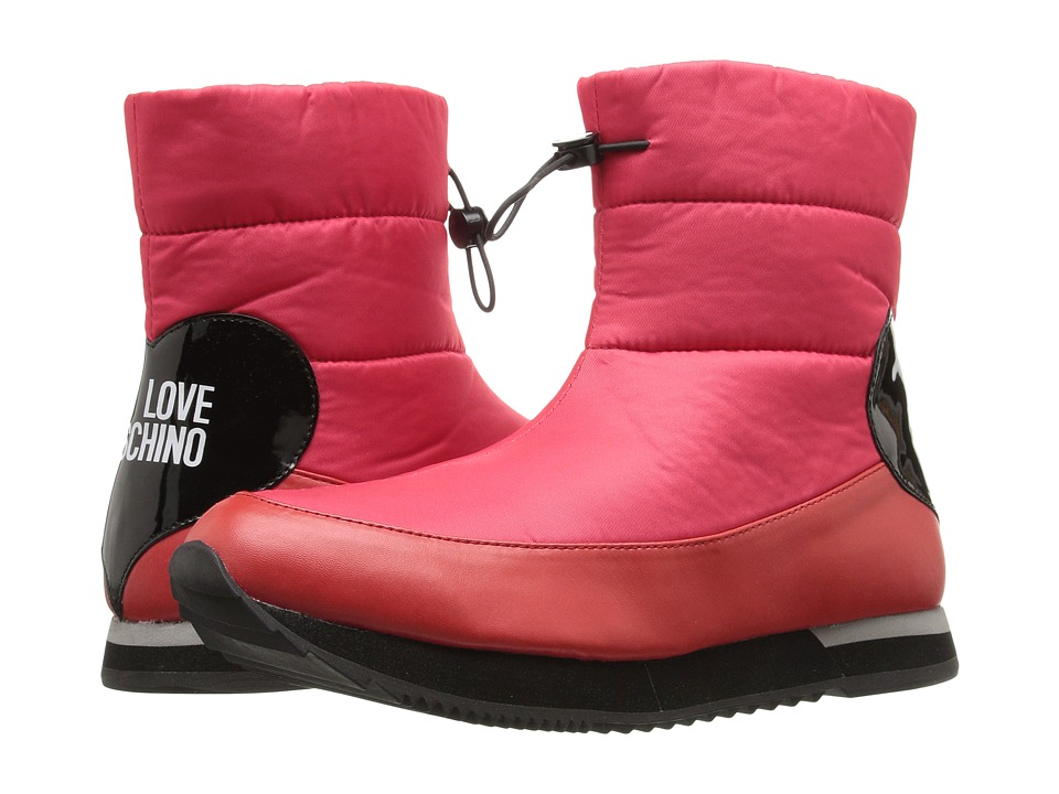 LOVE Moschino - Ankle Snow Boot (Red) Women