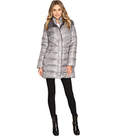 Kenneth Cole New York - Quilted Coat with Sherpa Collar