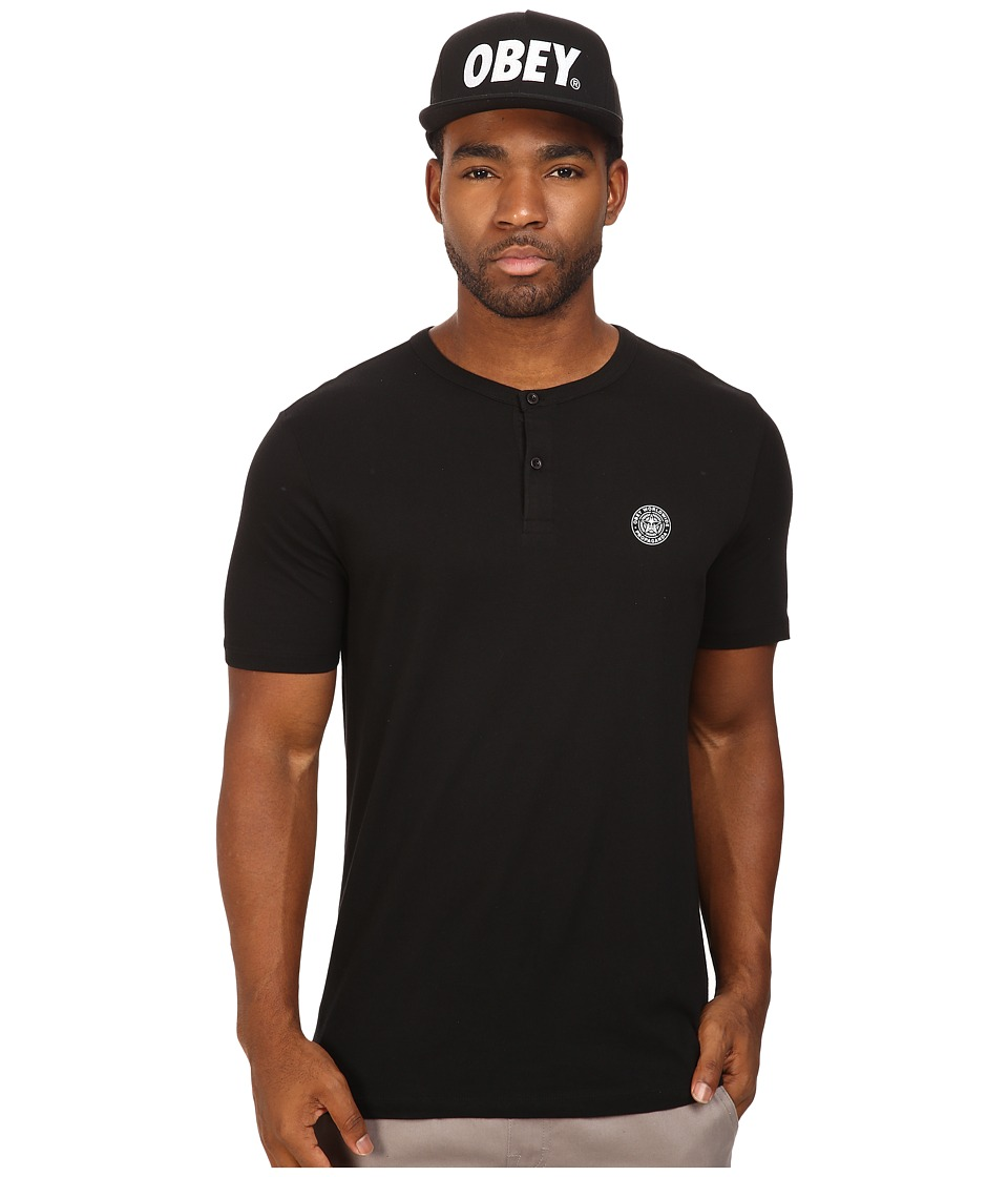 Obey - Mission Henley (Black) Men