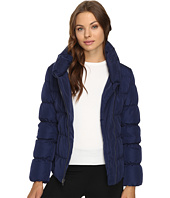 Kenneth Cole New York - Quilted Coat with Asymmetrical Zip