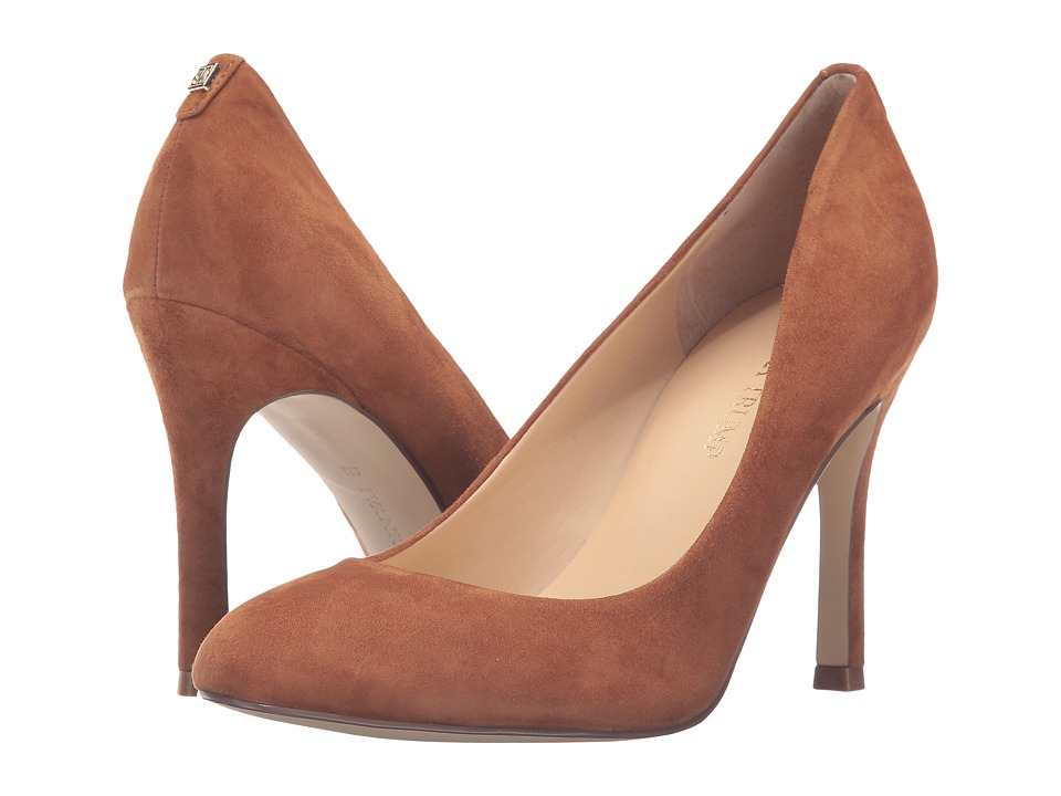 Ivanka Trump Janie 4 (Dark Natural Suede) High Heels