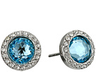 Crystal Halo Stud Earrings