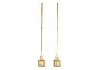 Pyramid Threader Earrings