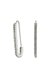 Rebecca Minkoff - Mini Pave Safety Pin Earrings