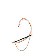 Rebecca Minkoff - Pave Ear Wrap Cuff with Chain and Stud Earrings