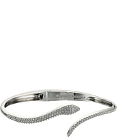 Rebecca Minkoff - Pave Snake Hinge Bangle Bracelet