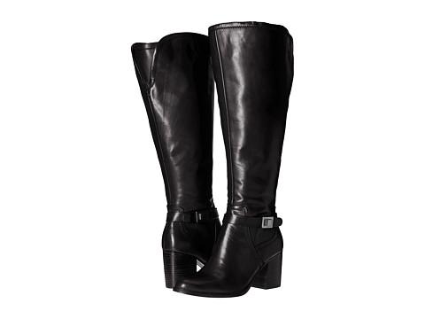 Franco Sarto Arlette Wide Calf - Black Leather