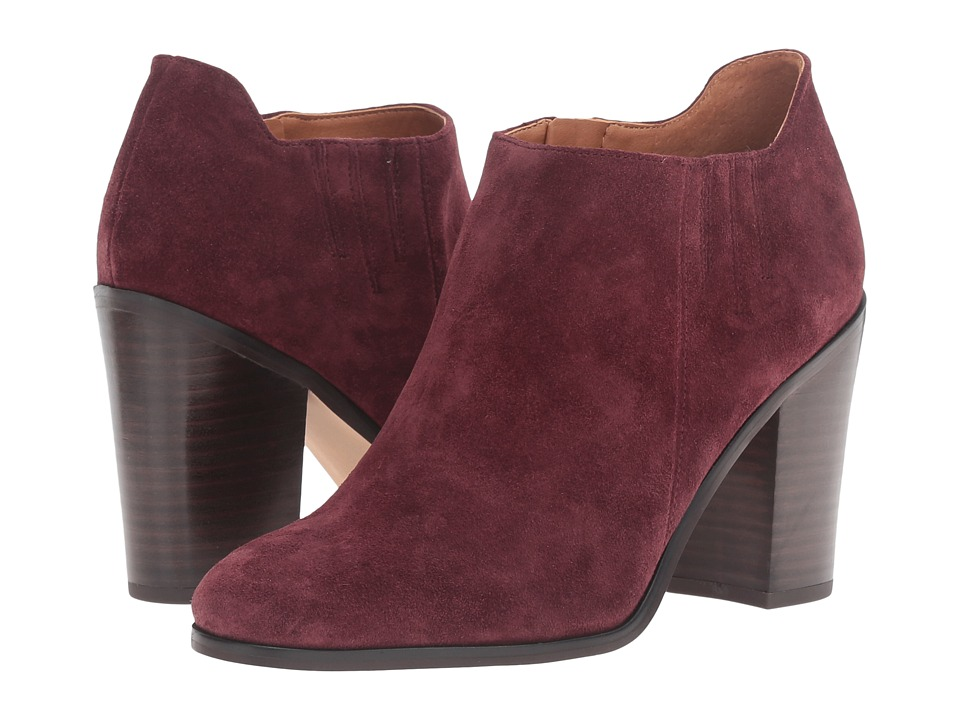 Franco Sarto Frannie (Dark Burgundy Suede) Women