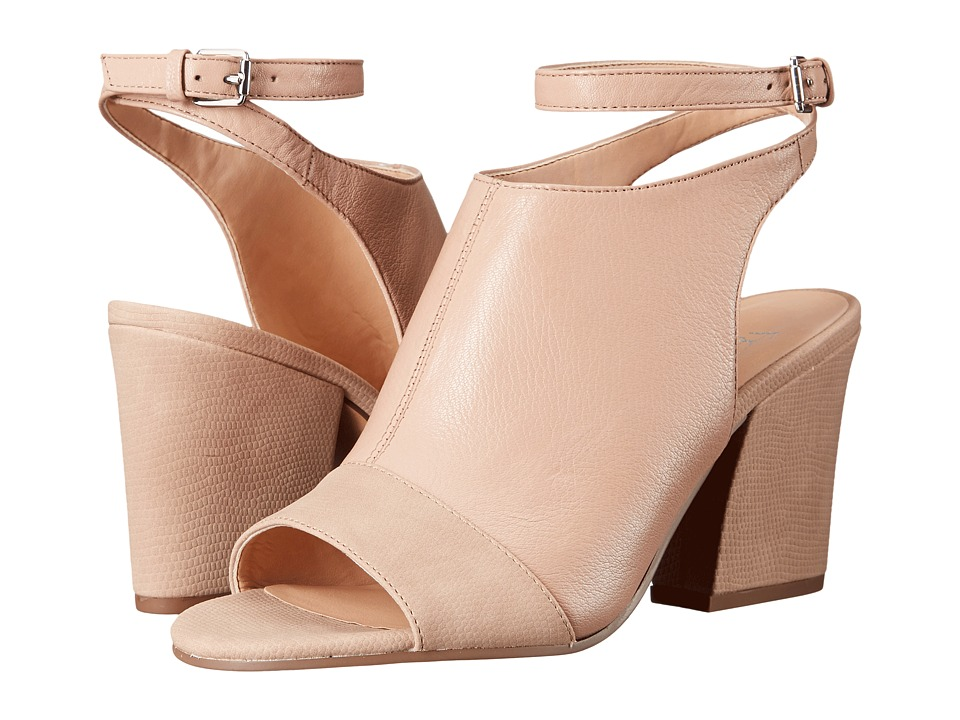 Franco Sarto Franchesca (Soft Beige Leather) High Heels