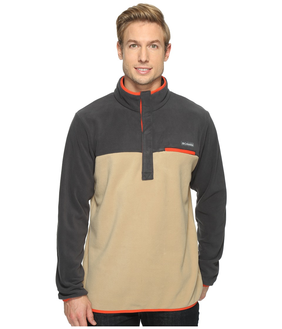 Columbia Mountain Side Fleece Jacket (British Tan/Shark/Super Sonic) Men