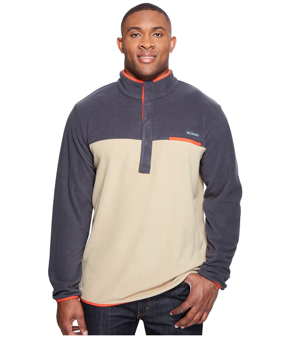 Columbia Mountain Side Fleece Jacket Extended (British Tan/Shark/Super Sonic) Men