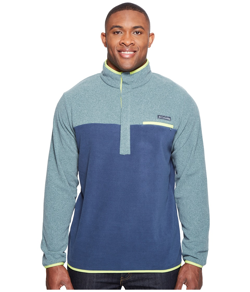 Columbia Mountain Side Fleece Jacket Extended (Pond Heather/Zinc/Voltage) Men