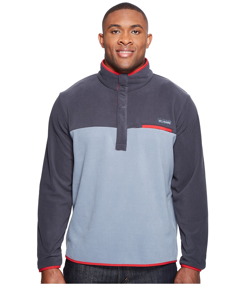 Columbia Mountain Side Fleece Jacket Extended (Grey Ash/Shark/Mountain Red) Men