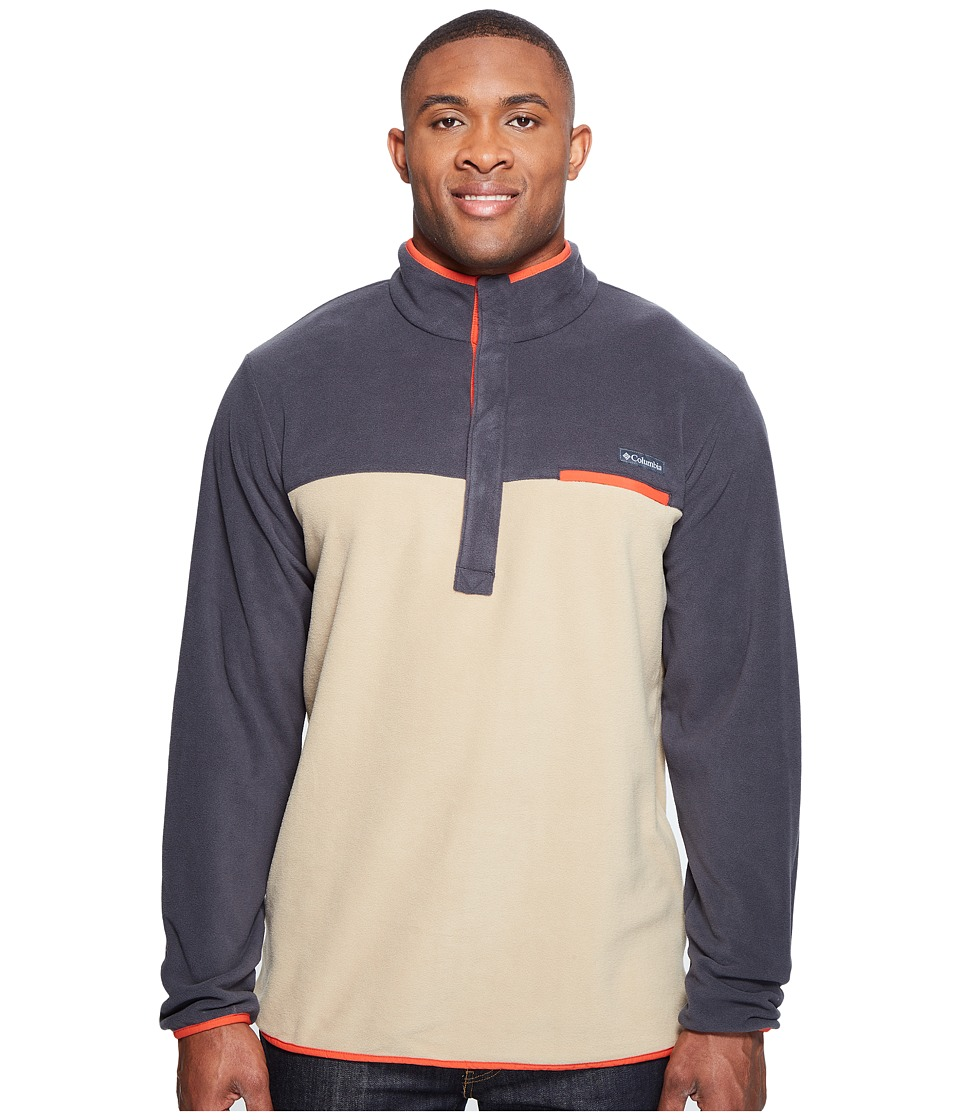 Columbia Mountain Side Fleece Jacket Tall (British Tan/Shark/Super Sonic) Men