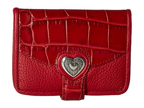 Brighton Bellisimo Heart Small Wallet - Lipstick