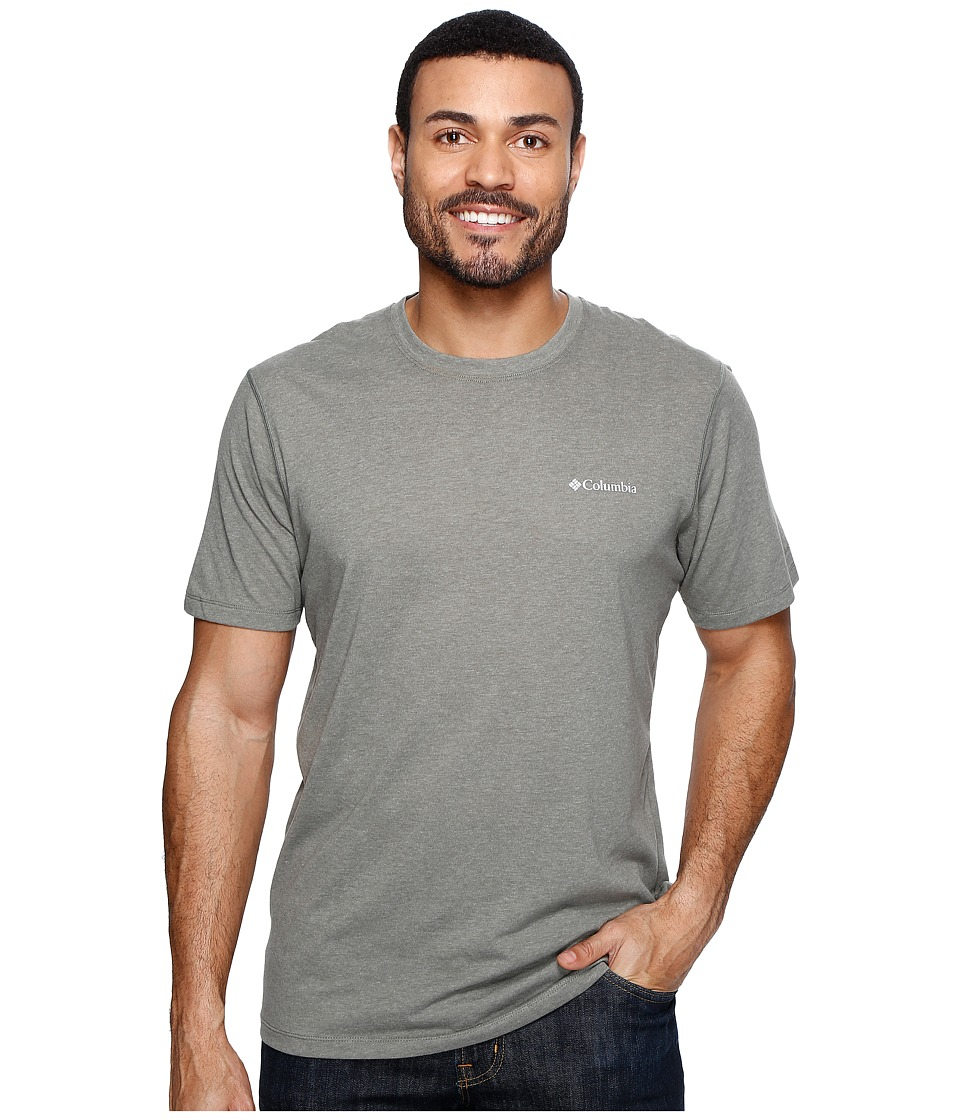 Columbia Silver Ridge Zero Short Sleeve Shirt (Cypress Heather) Men