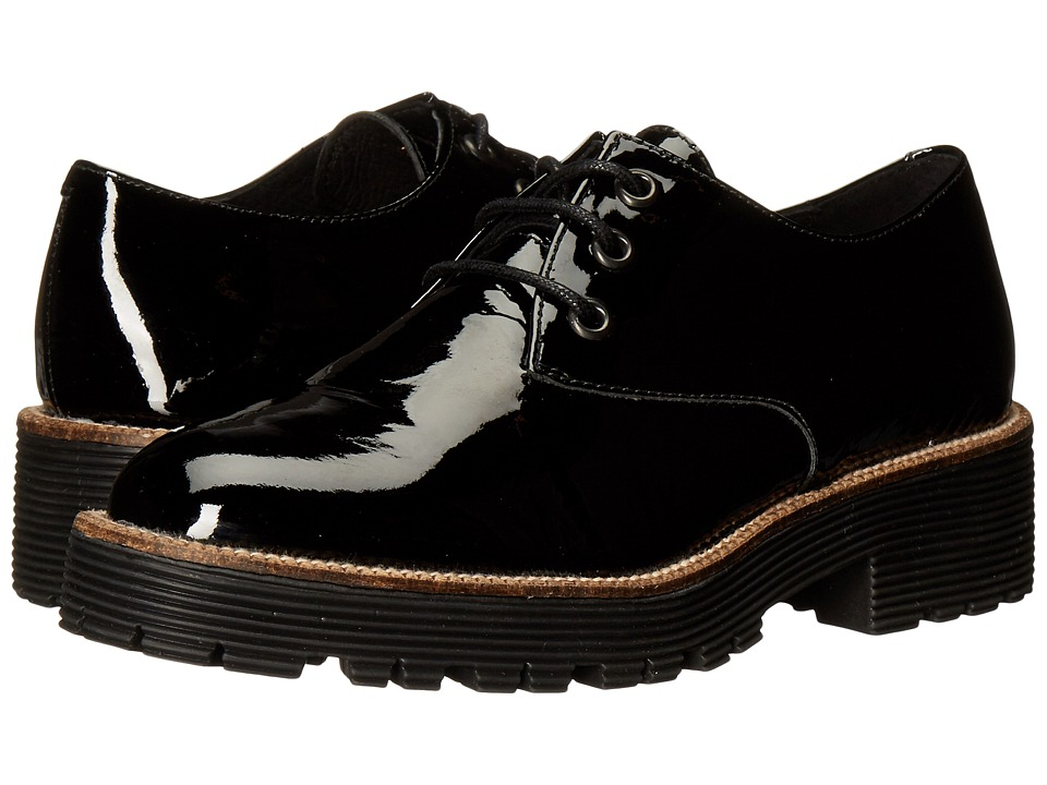 Shellys London Terrwyn Oxford (Black Patent) Women