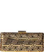 LOVE Moschino - Metal Lace Clutch with Chain