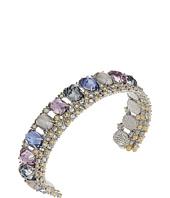 Alexis Bittar - Crystal Lace Cuff w/ Custome Cut Stone Bracelet