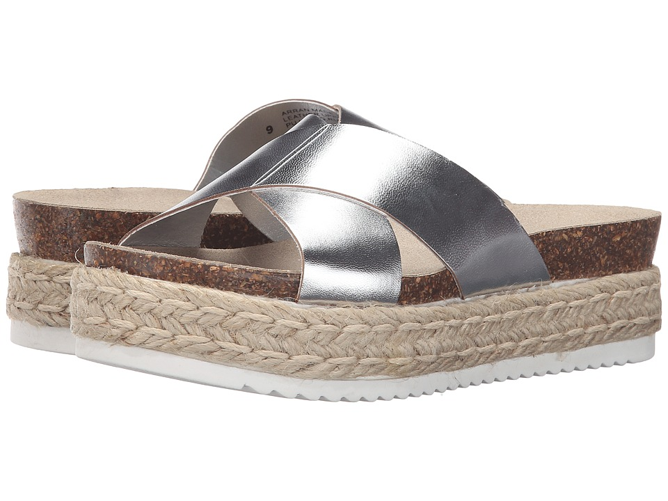 Steve Madden - Arran (Silver Leather) Women