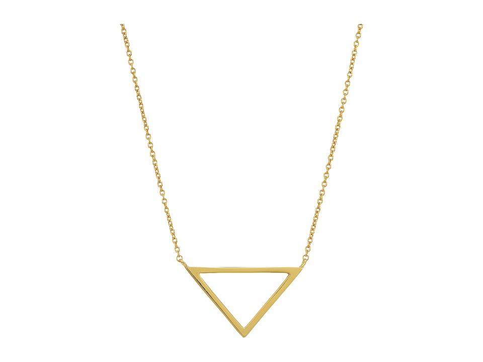 gorjana - Anya Charm Necklace (Gold) Necklace