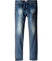 Hudson Kids - Jagger Slim Straight Five-Pocket in Ash Blue (Big Kids)