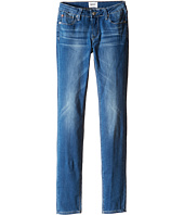 Hudson Kids - Dolly Skinny Five-Pocket Skinny Superstretch in Feather Blue (Big Kids)