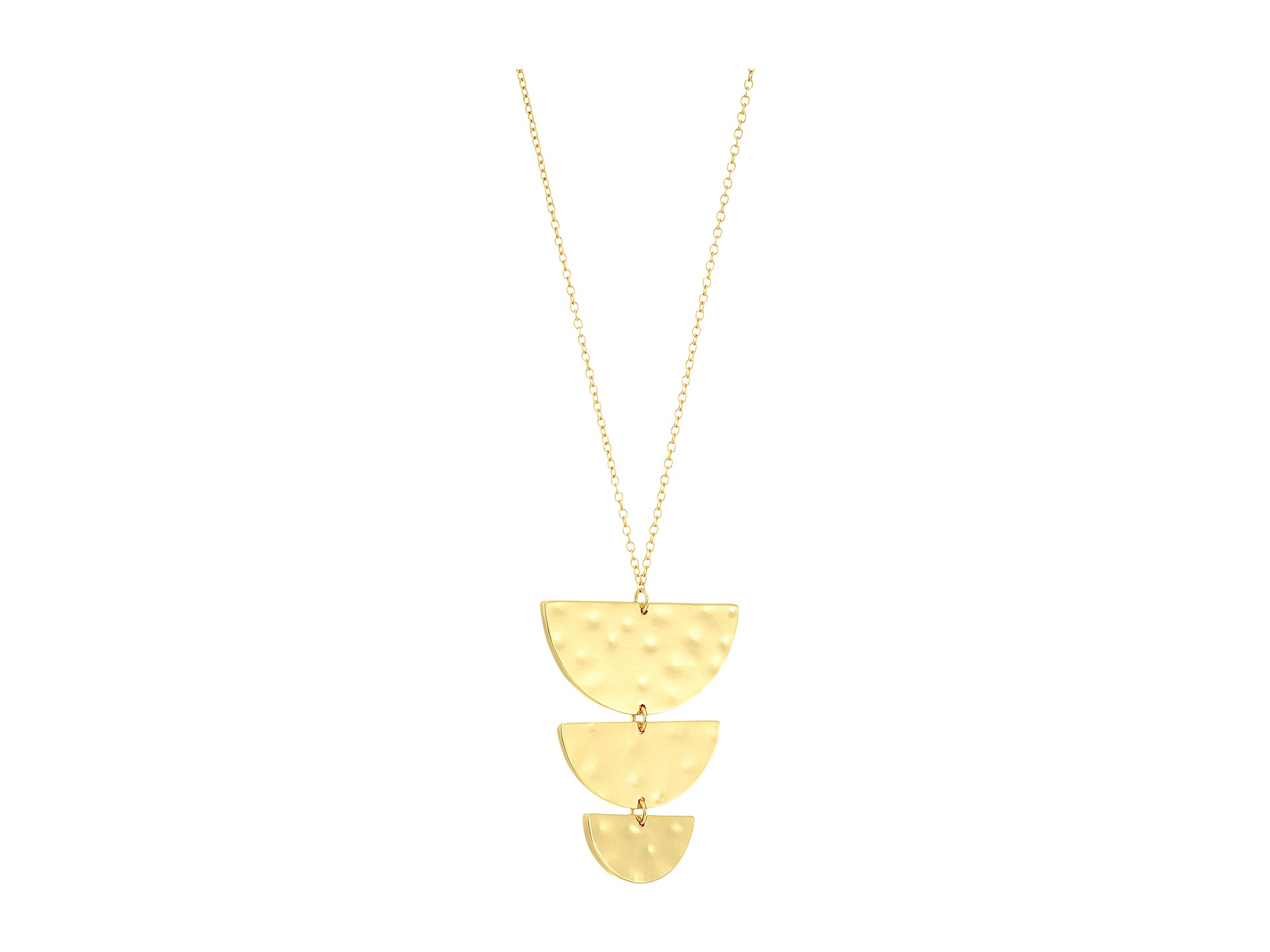 gorjana uma pendant necklace gold zappos free