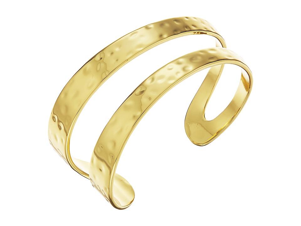 gorjana - Iman Cuff Bracelet (Gold) Bracelet