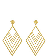 gorjana - Liv Tiered Drop Hoops Earrings