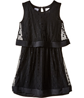 Kardashian Kids - Mesh Spot Dress with Hembands (Toddler/Little Kids)