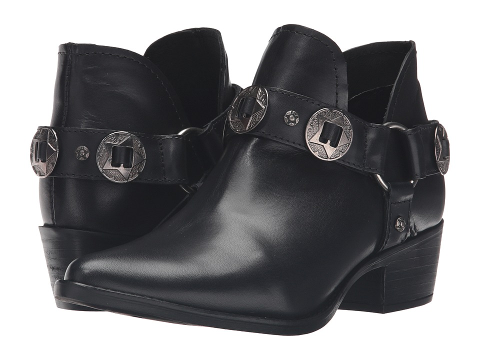 Steve Madden - Aces (Black Leather) Women