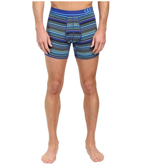 SAXX UNDERWEAR 3 Six Five Boxer - Cobalt Blanket Stripe