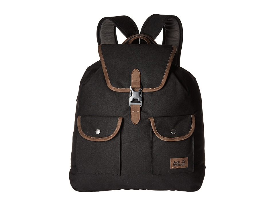 Jack Wolfskin Woodford 20 (Black) Backpack Bags