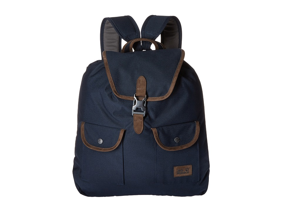 Jack Wolfskin Woodford 20 (Night Blue) Backpack Bags
