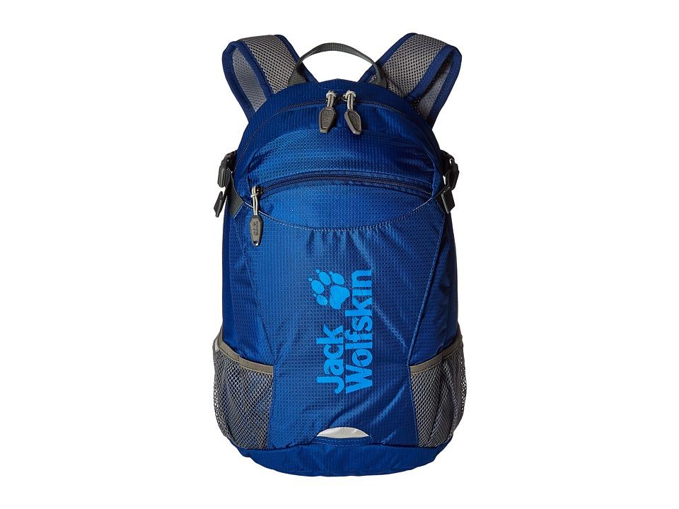 Jack Wolfskin Velocity 12 (Deep Sea Blue) Backpack Bags