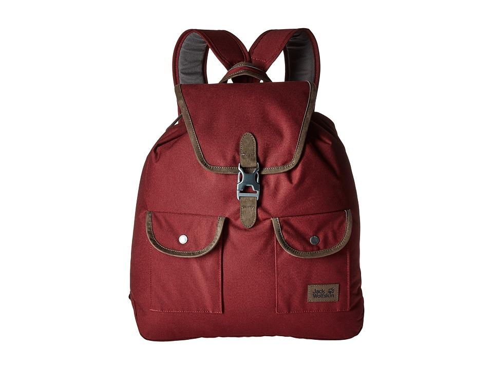 Jack Wolfskin Woodford 20 (Cabernet) Backpack Bags