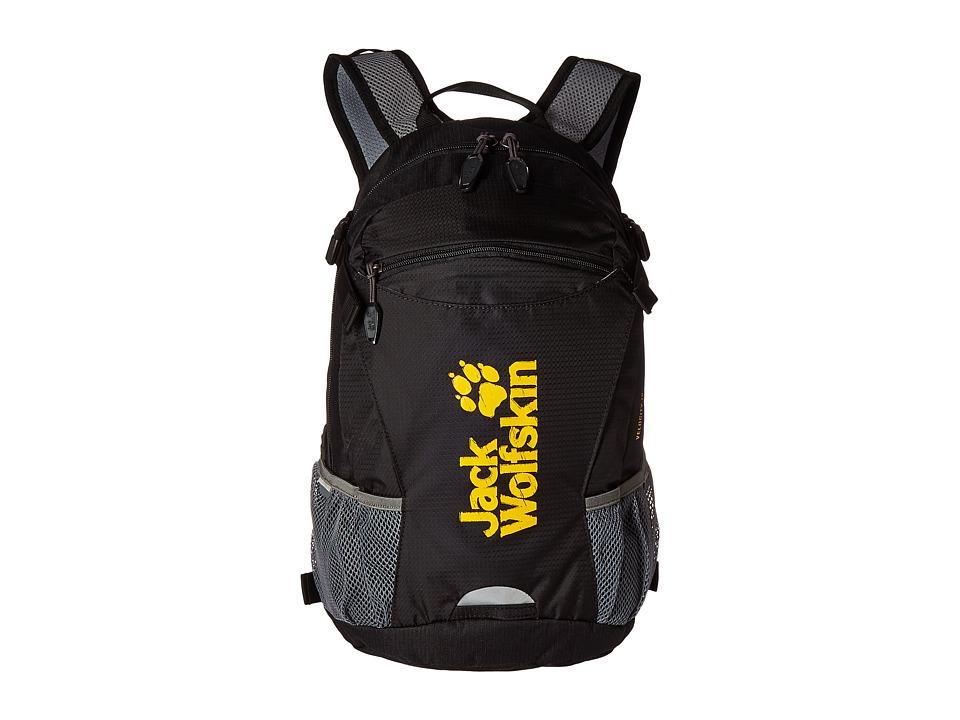 Jack Wolfskin Velocity 12 (Black 1) Backpack Bags