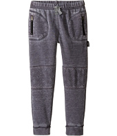 Kardashian Kids - Acid Washed Sweatpants with Quilted Knee Patches (Toddler/Little Kids)