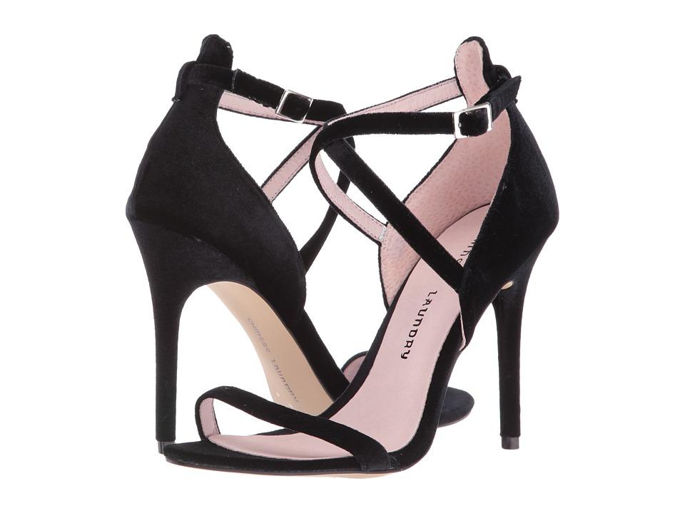 Chinese Laundry Lavelle (Black Rich Velvet) High Heels