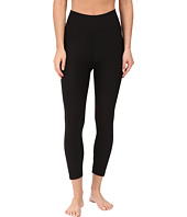 Plush - Cropped Athletic Leggings with Hidden Pocket