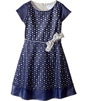 Us Angels - Cut Out Cap Sleeve Skater Dress (Toddler/Little Kids)
