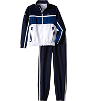 Lacoste Kids - Sport Taffeta Tracksuit with Packable Hood (Little Kids/Big Kids)