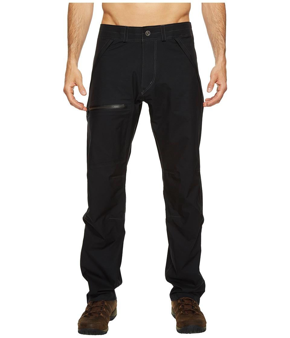 KUHL PRODUCTS INC. Jetstream Rain Pants (Black) Men's Cas...