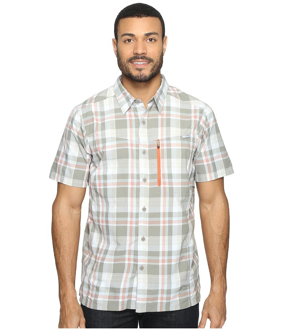 Columbia - Silver Ridgetm Plaid S/S Shirt (Kettle Plaid) Mens Short Sleeve Button Up