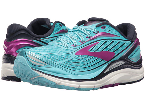 Brooks Transcend 4 - Bluefish/Peacoat/Purple Cactus Flower