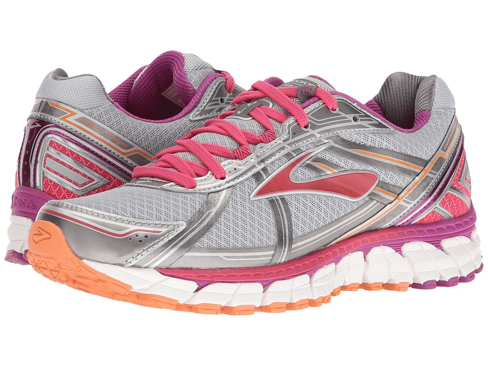 BROOKS Defyance 9 (Silver/Charcoal/Paradise Pink) Women's...