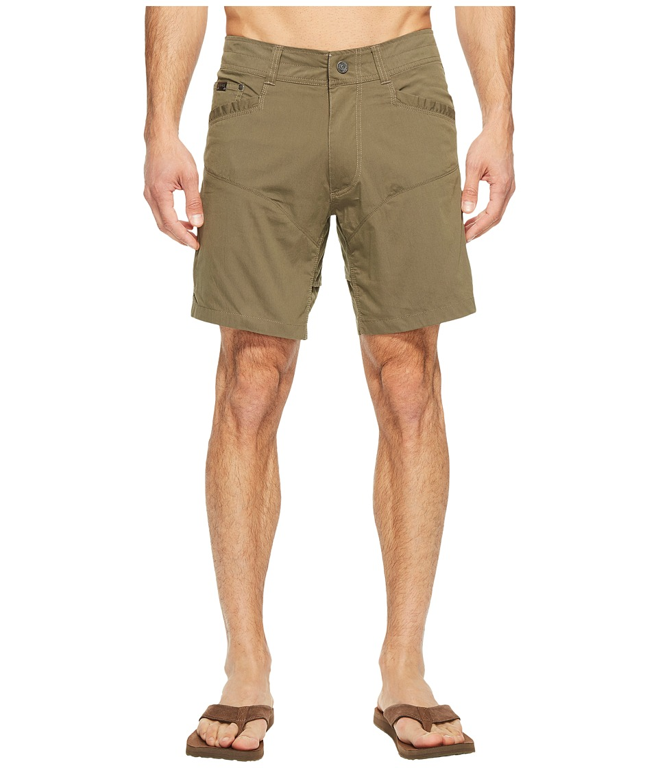 KUHL Kontra Air Shorts 8 (Dark Moss) Men