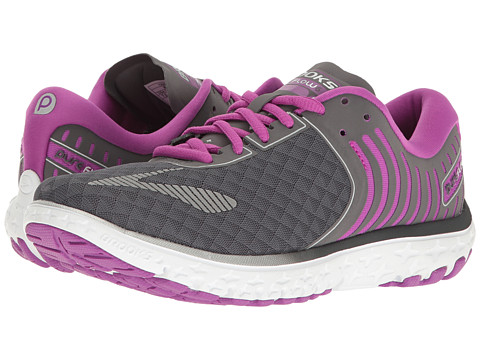 Brooks PureFlow 6 - Anthracite/Silver/Purple Cactus Flower